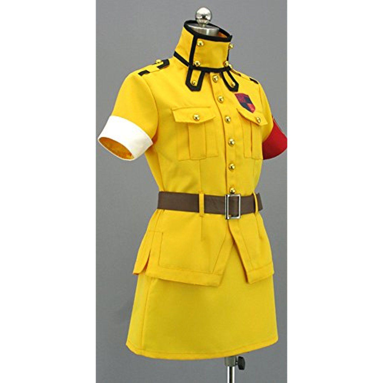 Schrodinger And Seras Victoria Cosplay: Onecos Hellsing Seras Victoria Yellow Cosplay Costume