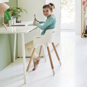 chaussures de sport 77e4b 1e7cf Bureau et chaise enfant en bois hauteur réglable Study Flexa ...