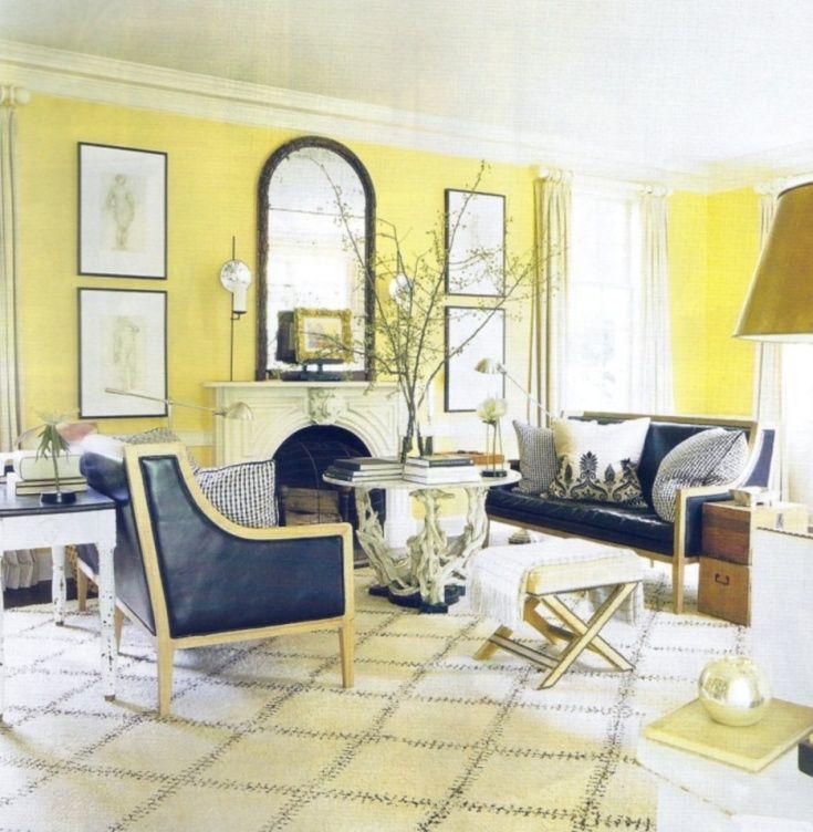 kristyleeinteriors | Home | Yellow | Pinterest | Elle decor and ...