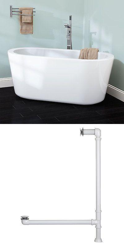 Bathtubs 42025: Signature Hardware 55 Abescon Acrylic Freestanding ...
