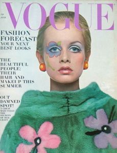 polly mellon twiggy vogue cover