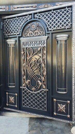 door gate banane ka design  | 480 x 360