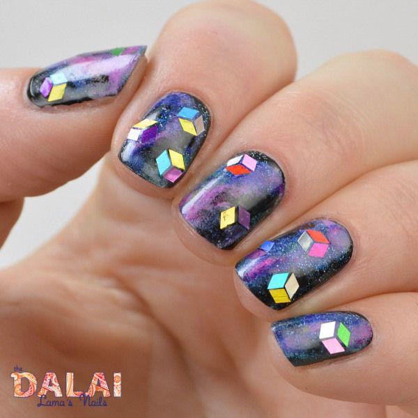Digital Dozen Does Patterns On Patterns Star Trek Nail Art The