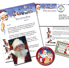 Get A Letter From The Real Santa Claus For Your Child From The