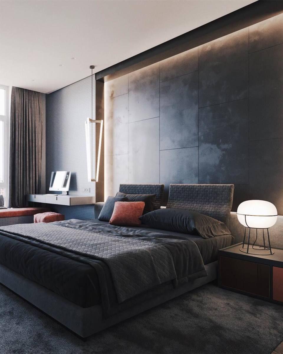 D Interiors Mała Sypialnia: Minimal Interior Design Inspiration