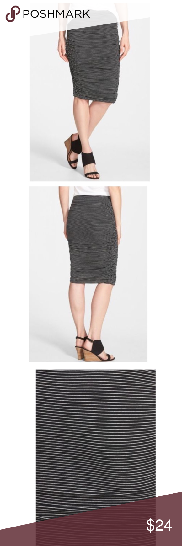 f8a83ac0e Vince Camuto Women's Ruched Midi Tube Skirt Vince Camuto Women's Ruched  Midi Tube Skirt, Size