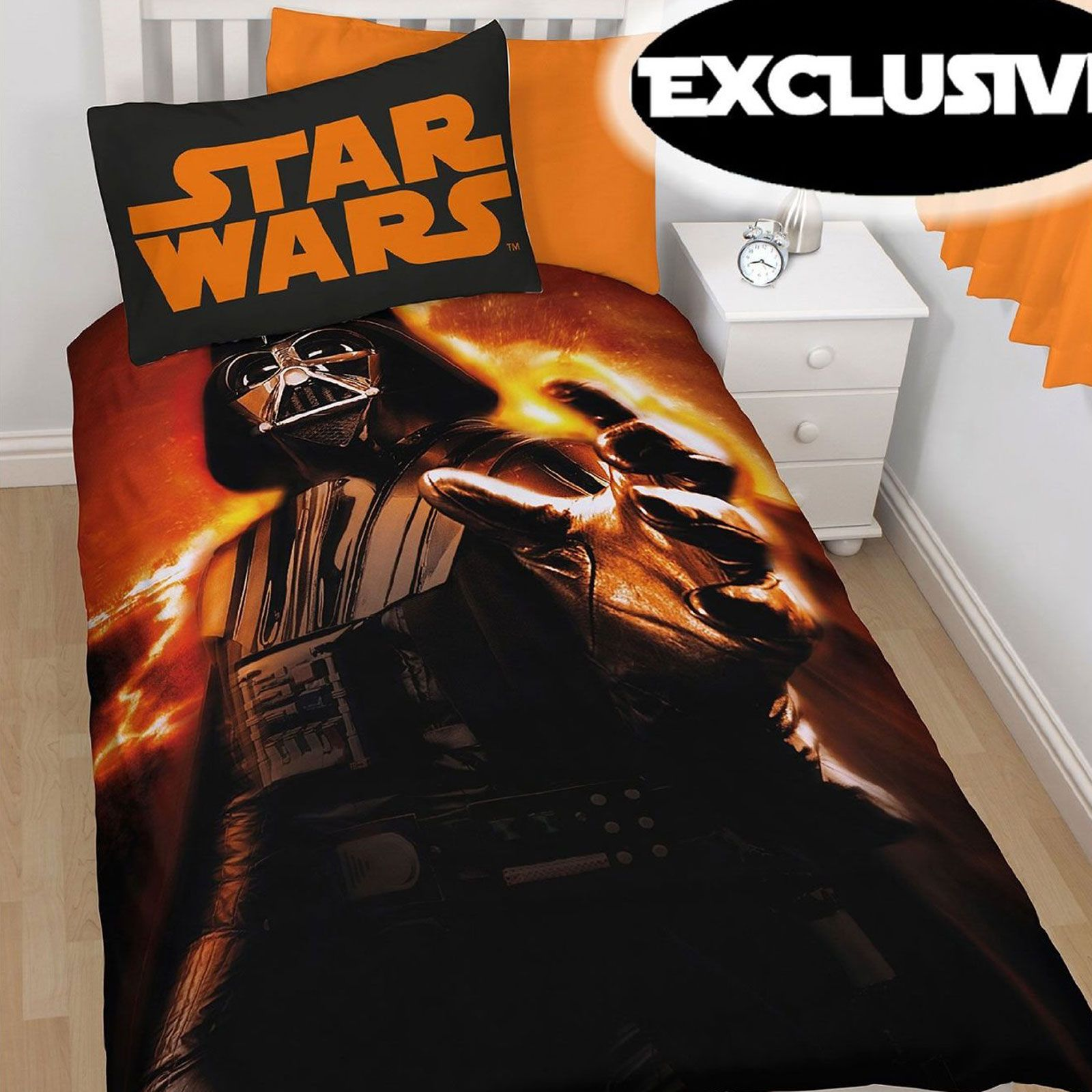 Funda Nordica Lego Star Wars.Funda Nordica Star Wars Vii Darth Vader Rise Cama 90cms