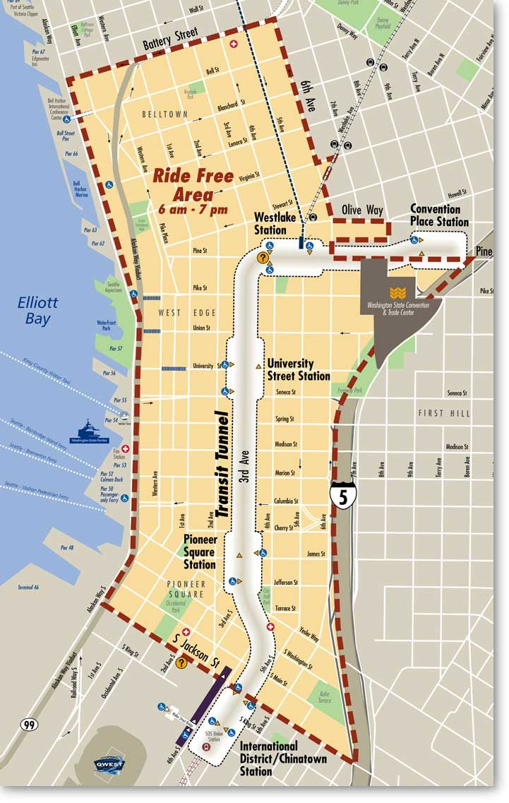 Ride Free transit area in downtown Seattlea thing of the past as of