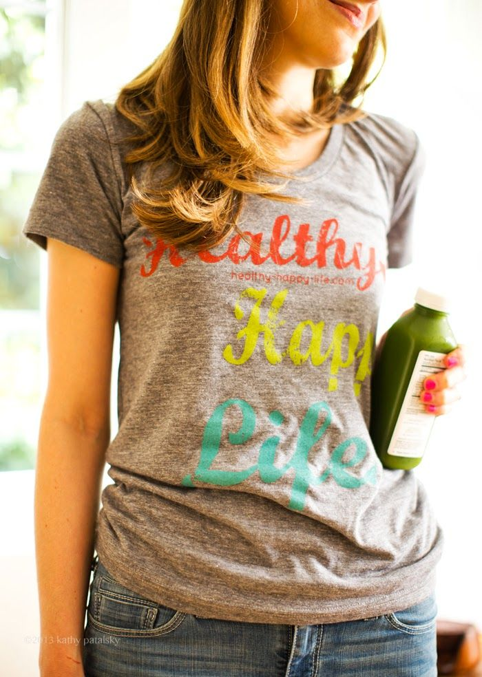 Super cute tees! from @Kathy Patalsky of Healthy. Happy. Life.