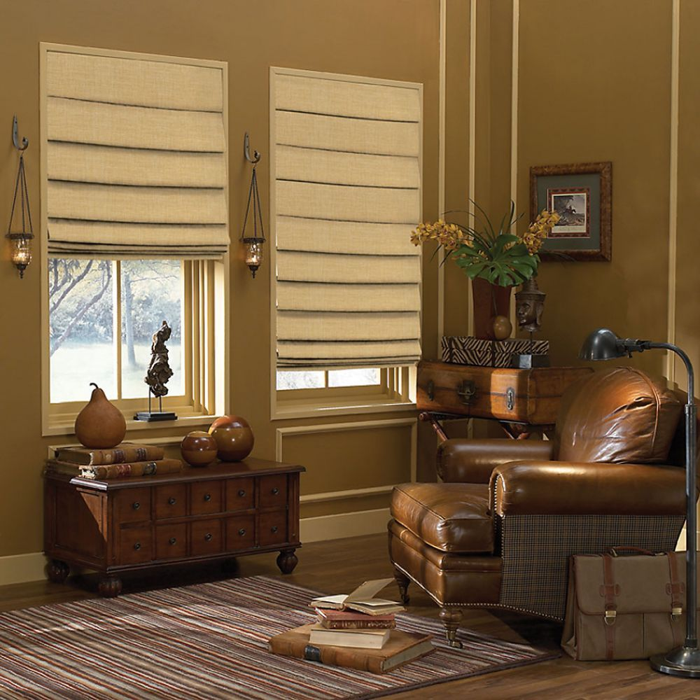 Premium Plain Fold Roman Shades Group B Fabrics Shades Blinds Living Room Blinds Modern Roman Blinds