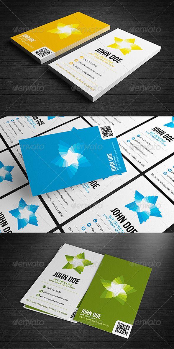 Premium Star Business Card Business Cards Creative Business Card Design Creative Business Cards Creative Templates