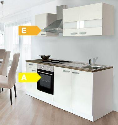 Respekta küchenzeile kb210ww 210 cm weiß jetzt bestellen unter https moebel ladendirekt de kueche und esszimmer kuechen kuechenzeilen uid9074c87d 2daa