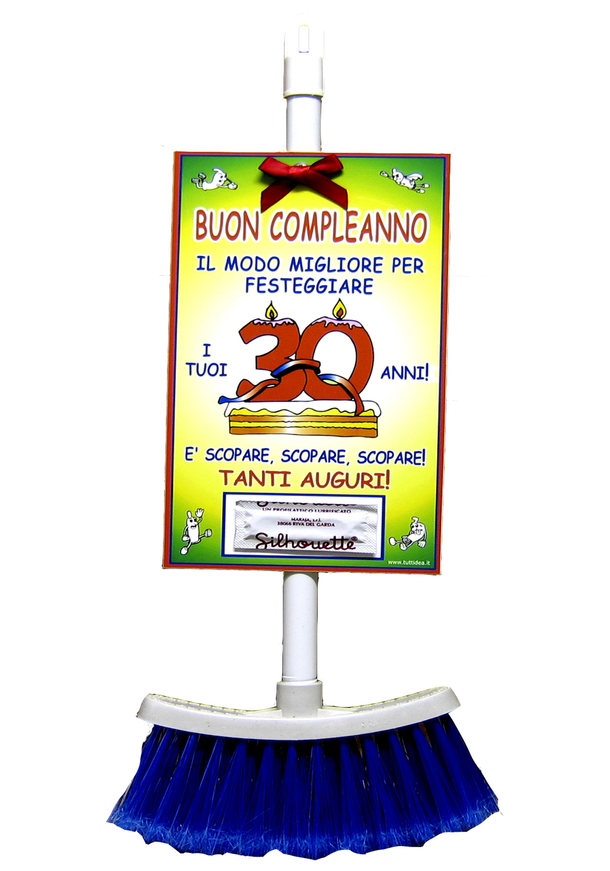 Scopa 30 Anni Prodotti E Articoli Regalo Per Tutte Le Feste Di Compleanno Scherzi Di Compleanno Buon Compleanno 30 Auguri Di Compleanno