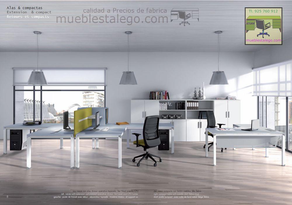 Muebles de oficina en madrid por muebles talego muebles de oficina pinterest - Muebles oficina baratos madrid ...