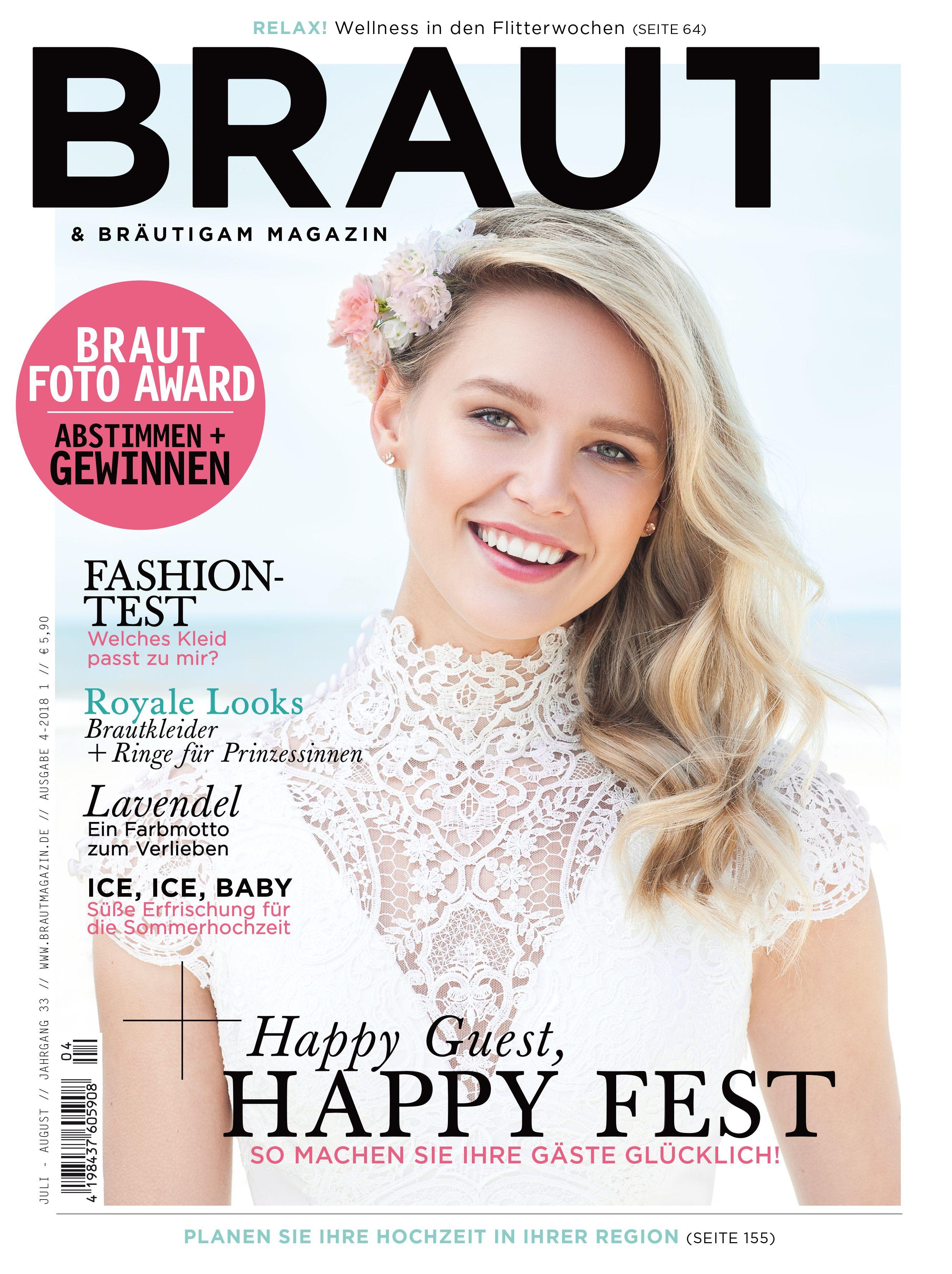 Braut & Bräutigam Magazin - Ausgabe 4-2018 #Brautmagazin #Hochzeit ...