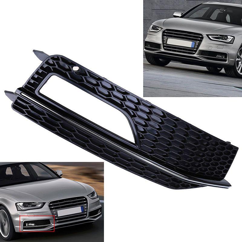 For AUDI A4 B8.5 13-15 Fog Light /& Grilles Set+Halogen+S4 RS4 Style+Facelift+New