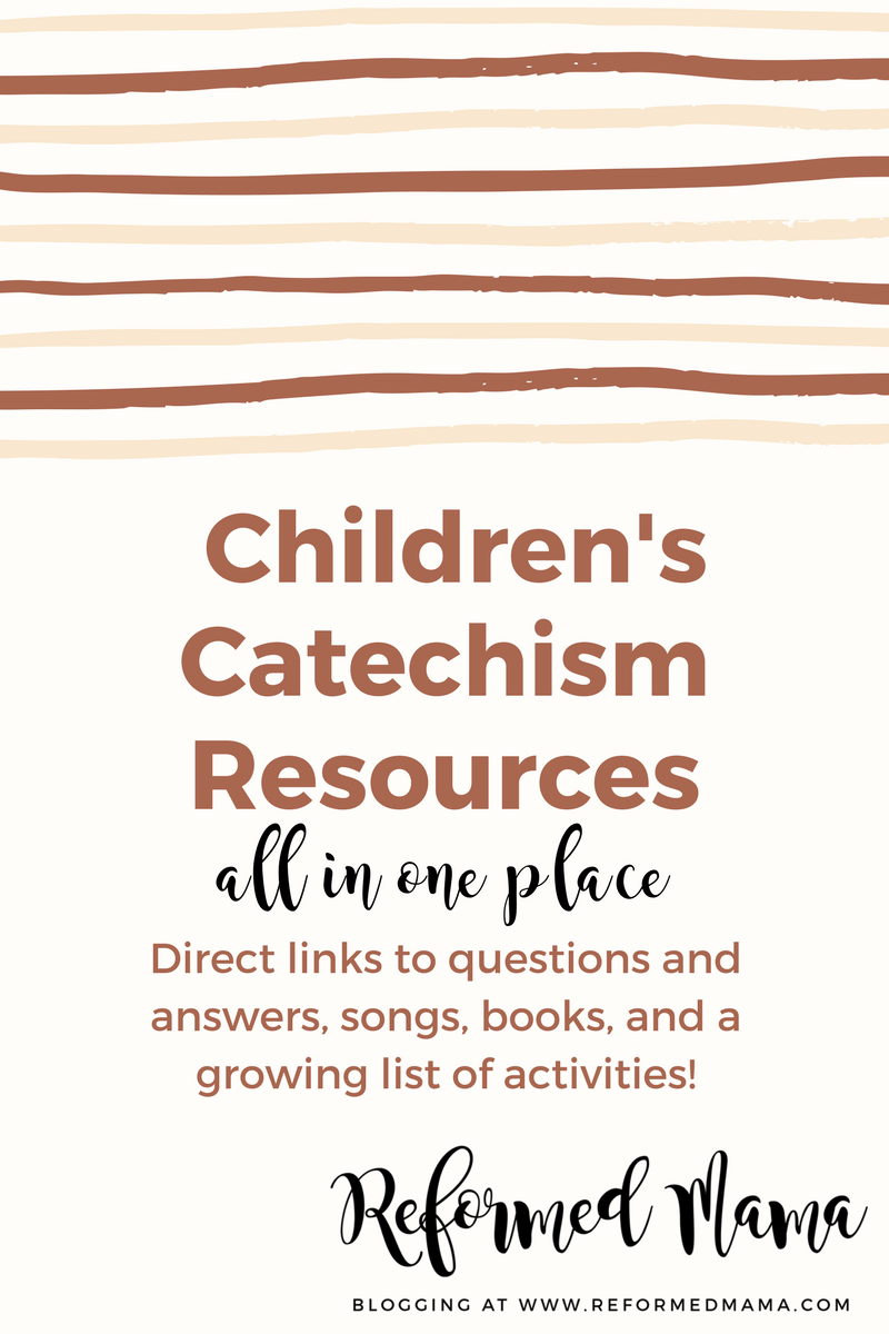 graphic relating to Westminster Shorter Catechism Printable titled Fresh new Website Webpage - Childrens Catechism Supplies Young children and