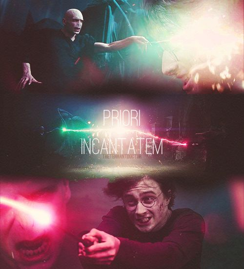 Favorite Spell Curse Phenomenon Priori Incantatem Harry Potter Fantastic Beasts Mischief Managed Hogwarts