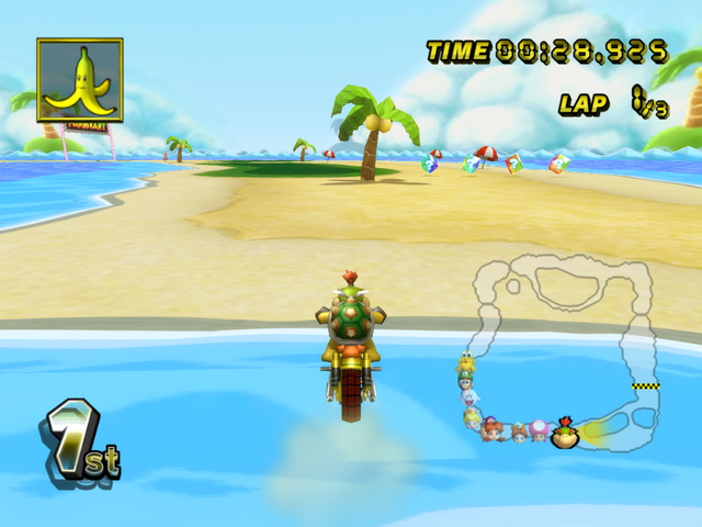 Shy Guy Beach Mario Kart Wii