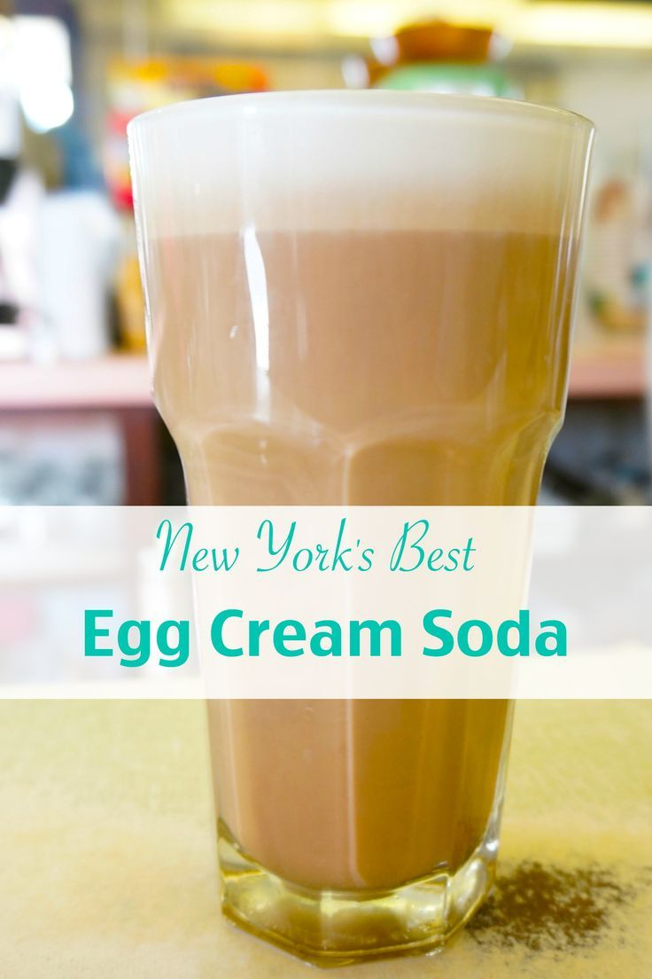 The best egg cream soda in New York City is from one of the last lunch counters in Manhattan (with a real soda jerk).