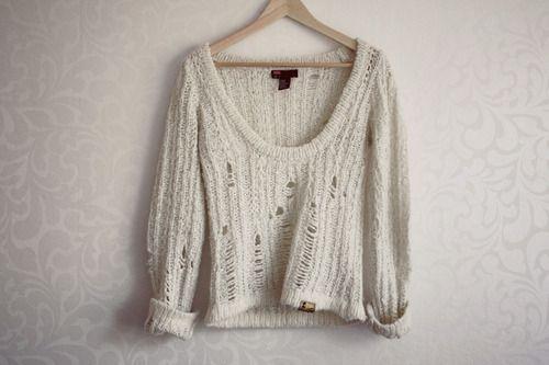 destroyed knit.