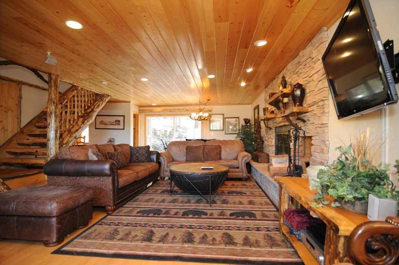 Big Bear Cabin #37 Ski In   Ski Out Bear Mountain 5Bed/4 Bath With Entry To Bear  Mountain! To Book Call (310) 800 5454 Or Click The Image!