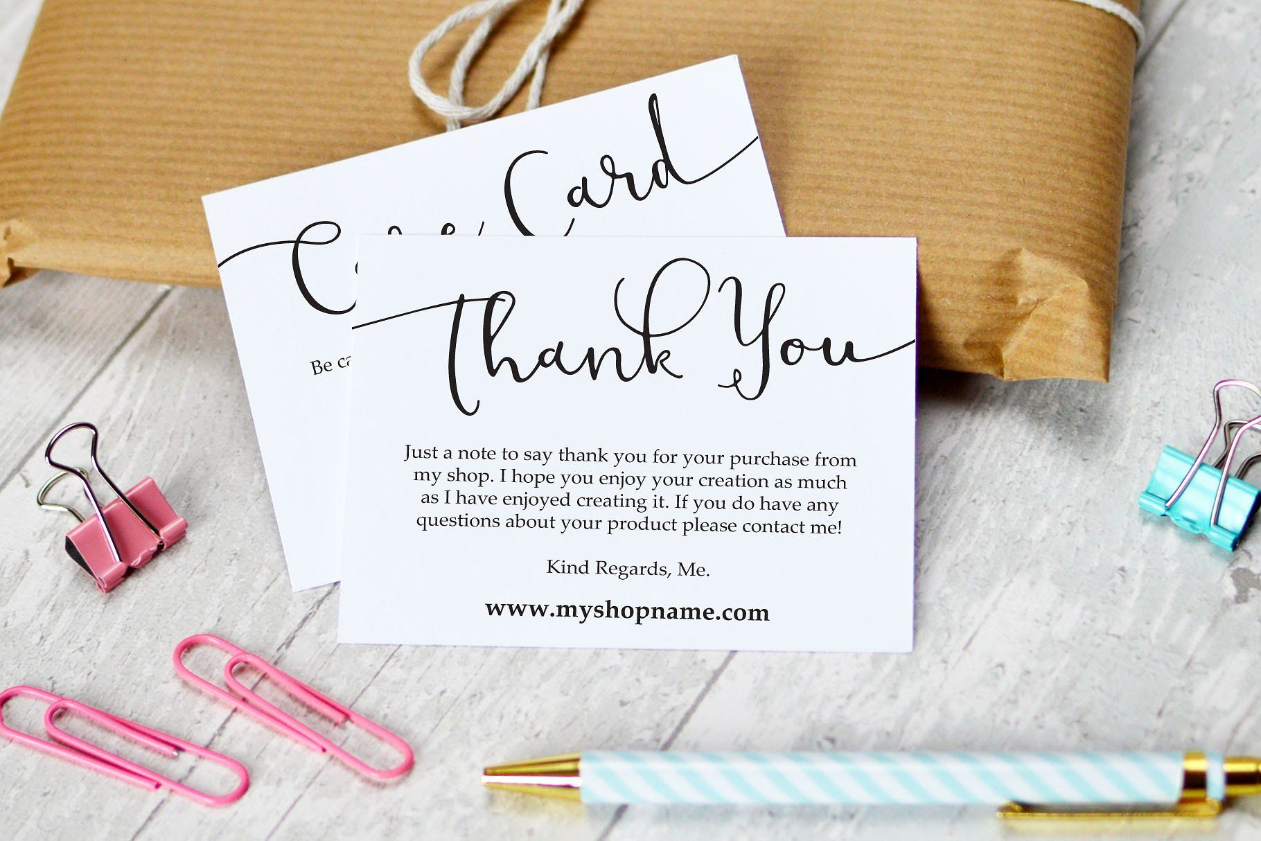 Business Thank You Care Cards Thank You Card Design Business Thank You Notes Business Thank You Cards