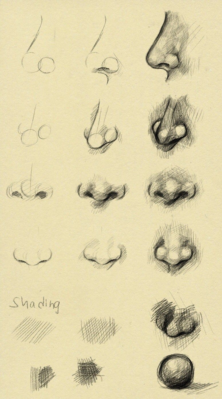 Photo of 10 Amazing Nose Drawing Tutorials & Ideas – Brighter Craft