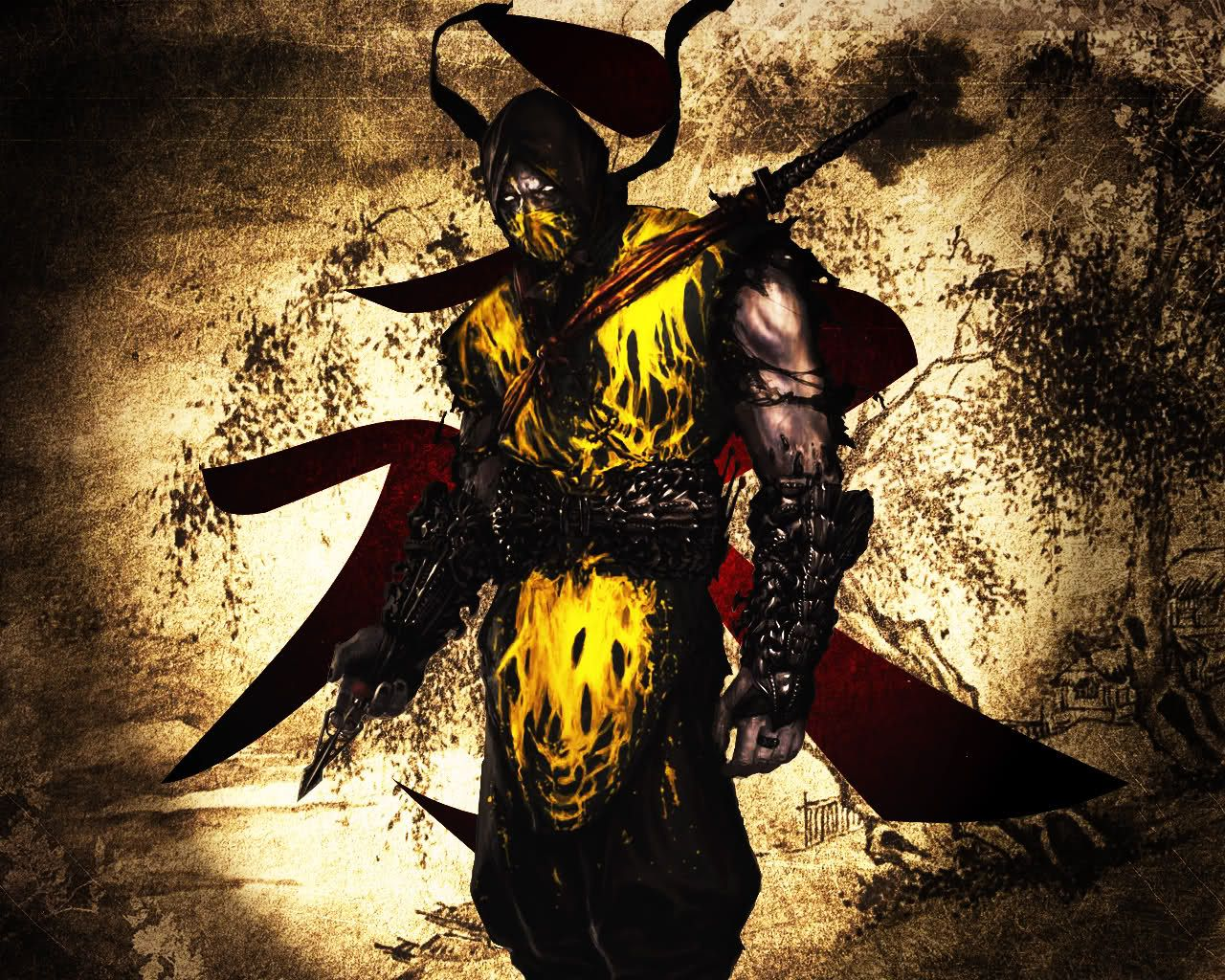 Scorpion The Video Gamer Mortal Kombat Scorpion Mortal Kombat