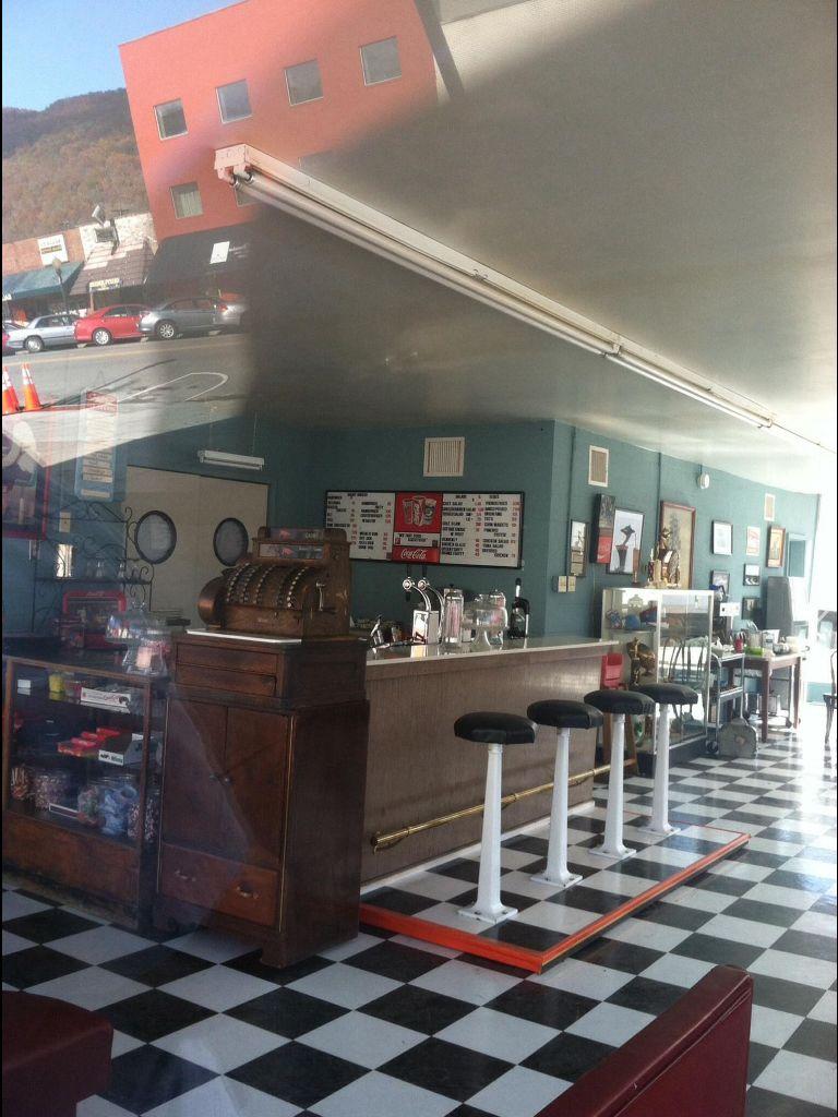 The diner in the Big Stone Gap movie Big stone gap, Big