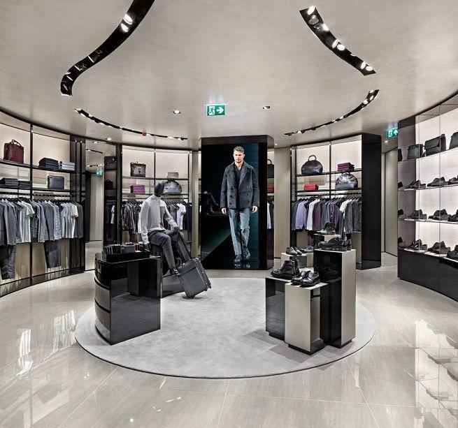 Emporio Armani store by Giorgio Armani Belgrade store design