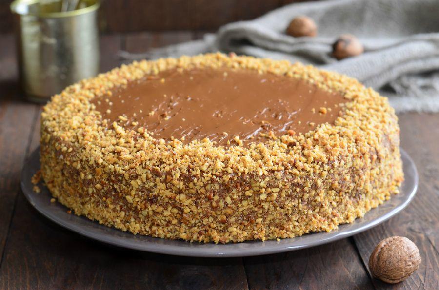 Торт «Лакомка» - пошаговый рецепт с фото | Выпечка | Вкус ...