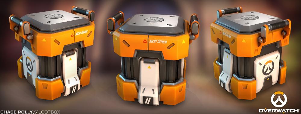 Artstation Overwatch Lootbox Chase Polly Overwatch Star Wars Concept Art Guns Design