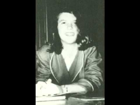 "▶ Sylvia Plath reads ""Tulips"" - YouTube"