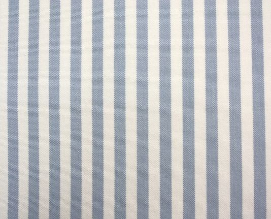 Karl Stripe Fabric A Narrow Stripe Woven Fabric In Light Blue On