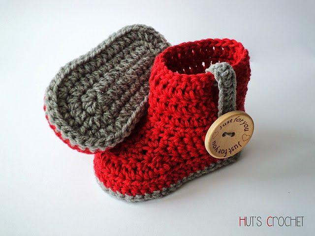 Tmk Crochet Free Crochet Pattern Round Up Baby Booties Baby