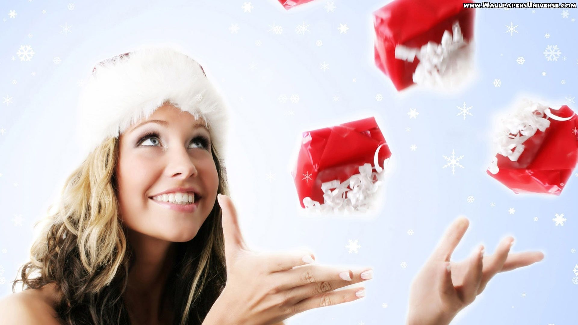 Christmas Girl Gifts   High Definition Wallpapers (HD Wallpapers ...