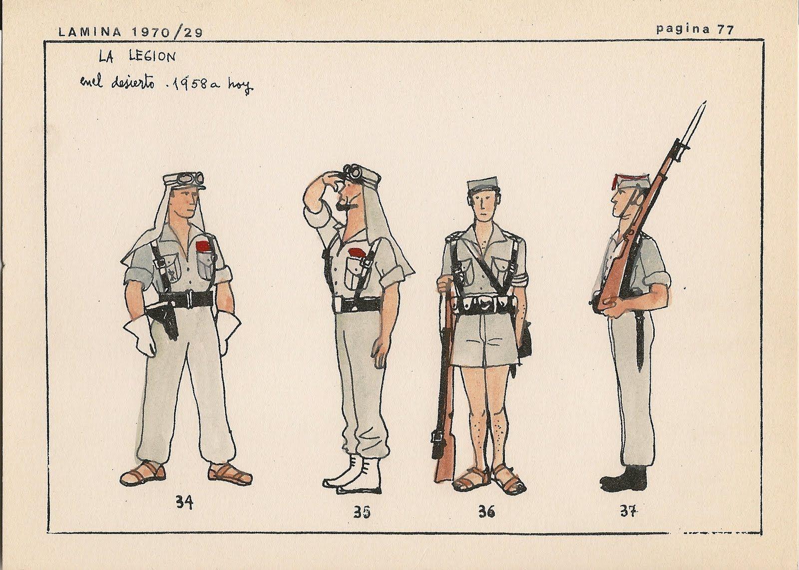Pin En La Legión Española