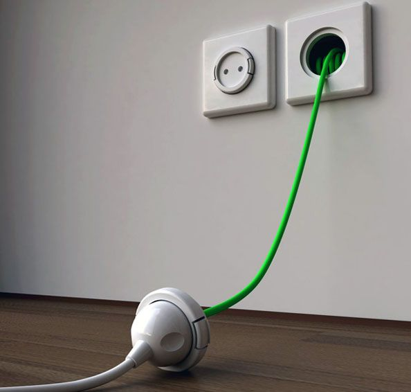 15 Most Creative Electric Sockets 1 Design Per Day weird, random - nettoyer moisissure joint salle de bain