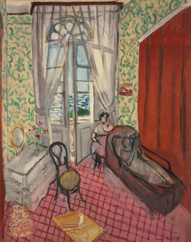 Henri Matisse - Women with Sofa or The Divan, 1921. #arte