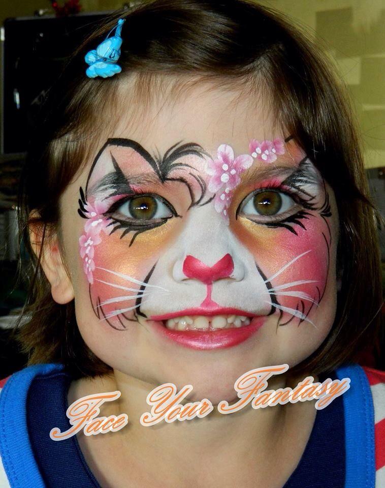 b4cb79aa8 Princess PETA || kitty cat Girl Face Painting, Belly Painting, Facial, Mask