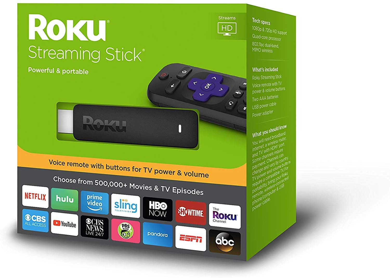 Roku Streaming Stick Portable; Roku streaming stick