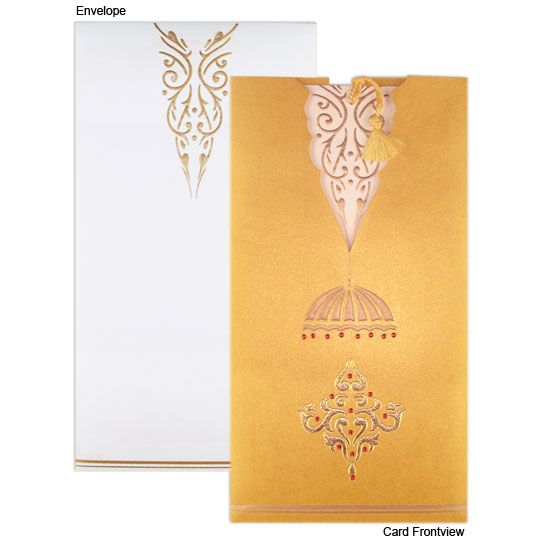 Gorgeous Design Indian Wedding Invitation Hindu Wedding Cards