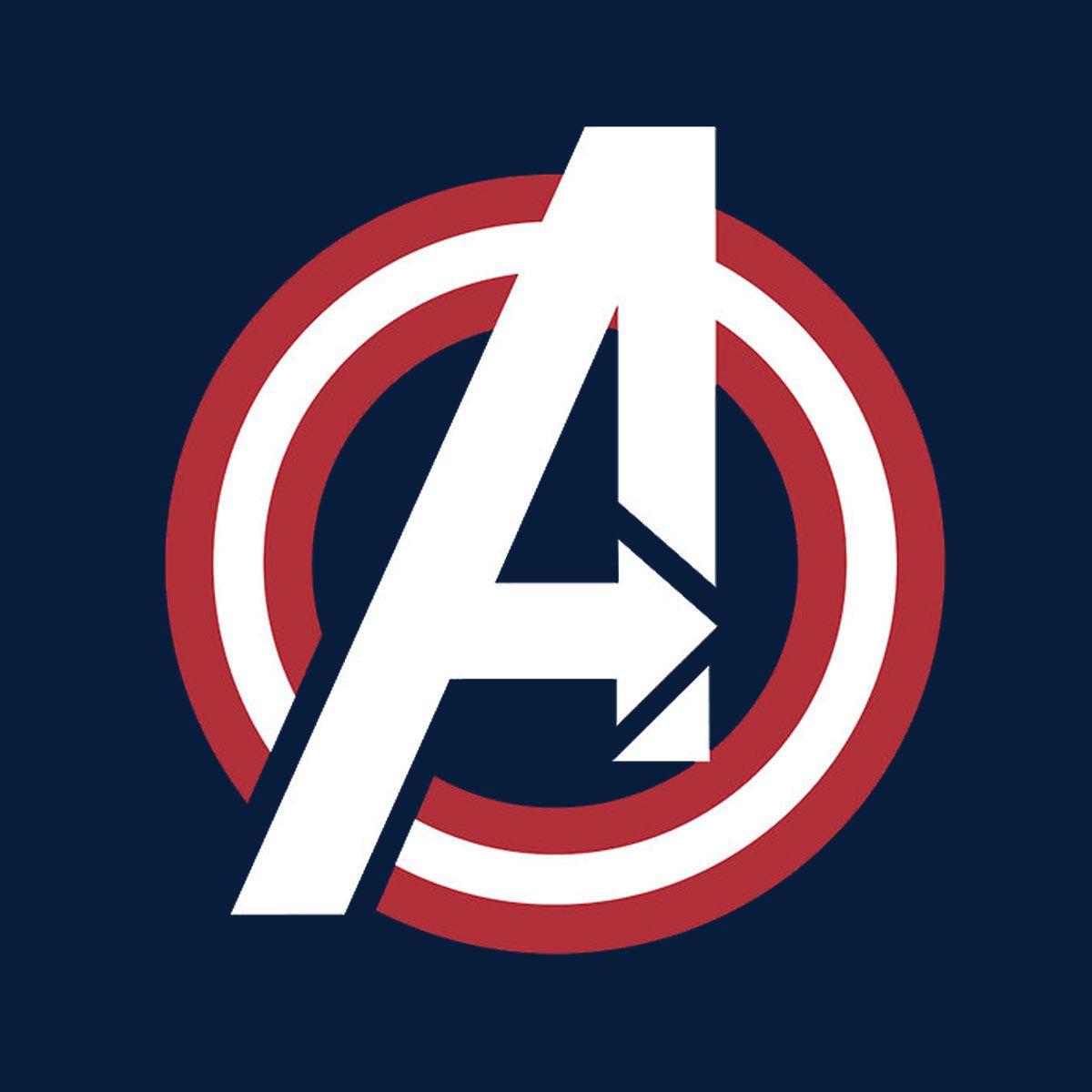 Camiseta Los Vengadores (The Avengers). Logo América ...