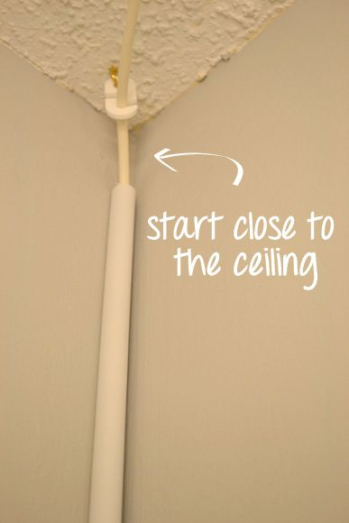 How To Hang A Swag Light And Brighten Any Room DIY Ideas - Overhead hanging lights