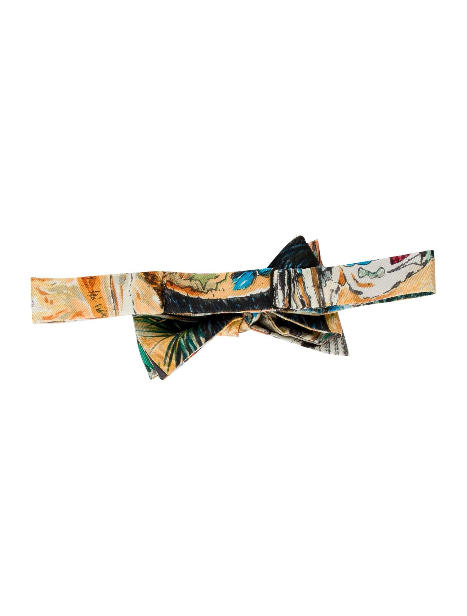 Silk Bow Tie for Men Flight