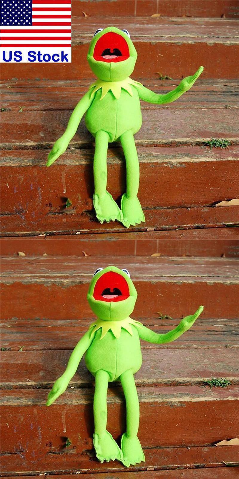 California Raisins 20904  18 New Kermit The Frog Sesame Street Muppet Frog  Plush Toy With cda554989c2f