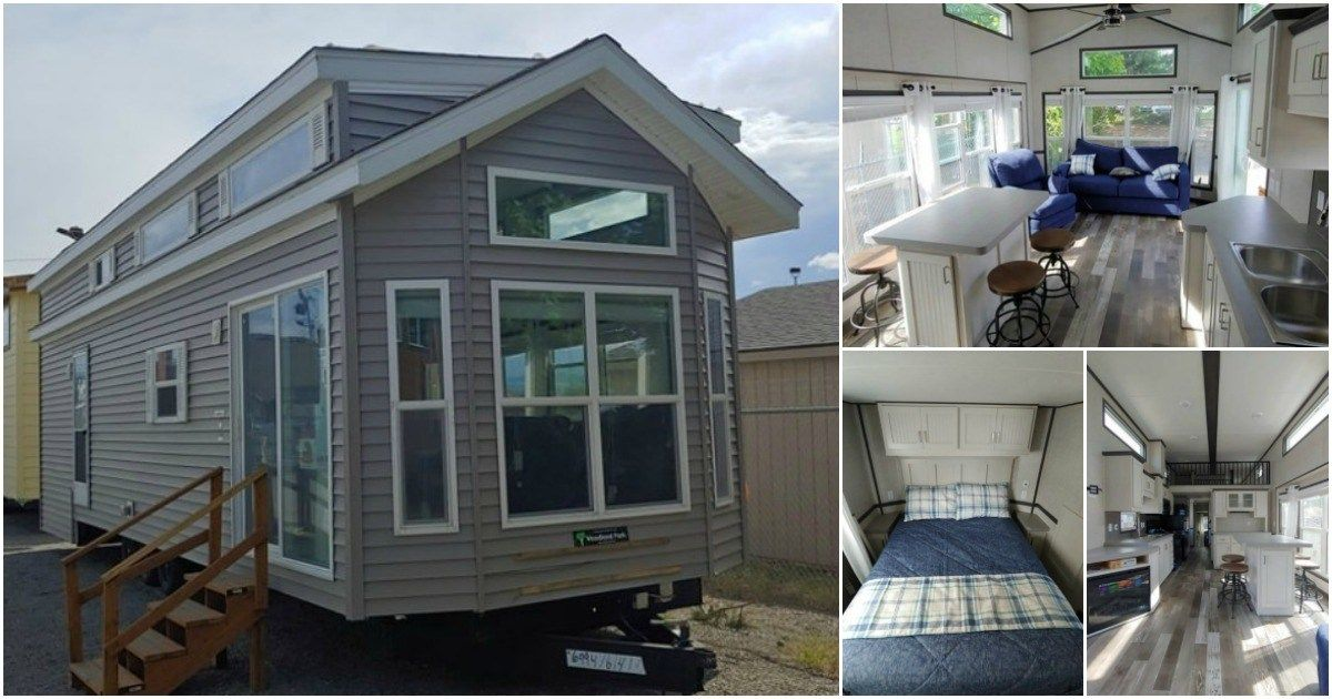 This Yellow Tiny House Is Like A Ray Of Sunshine Tiny House Community Tiny House House Built