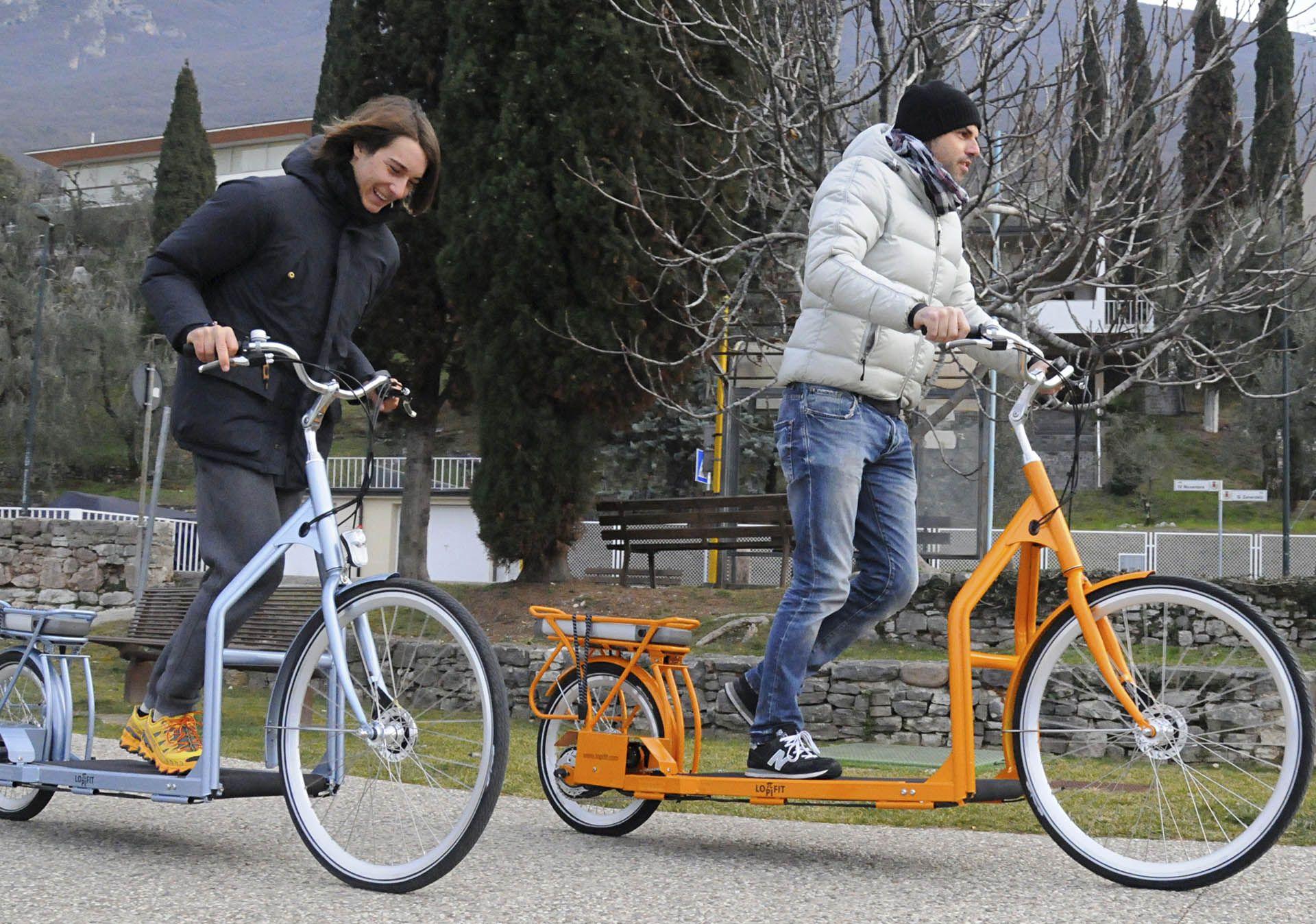 Electric Walking Bike Is A Treadmill On Wheels Bicicletas