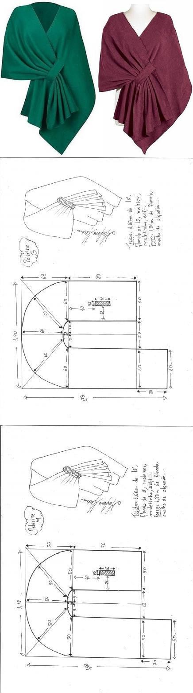 Крой и шитье | Costura, Patrones y Patrones de costura